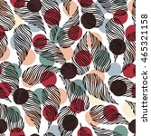 seamless pattern with drop... | Shutterstock .eps vector #465321158