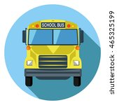 school bus icon | Shutterstock .eps vector #465325199