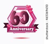 60 years anniversary purple...