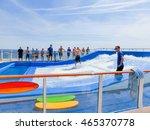 Small photo of Barselona, Spaine - September 12, 2015: Royal Caribbean International, Allure of the Seas