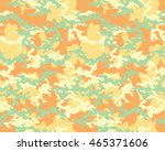 fashionable camouflage pattern  ... | Shutterstock .eps vector #465371606