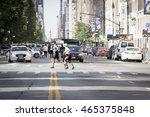 new york city    july 24 2016 ... | Shutterstock . vector #465375848