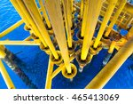 oil and gas producing slots at... | Shutterstock . vector #465413069