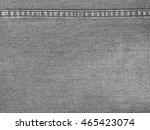 detail of close up denim jean... | Shutterstock . vector #465423074