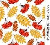 Autumn Seamless Pattern With...