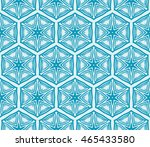 hexagon shape pattern. series... | Shutterstock .eps vector #465433580
