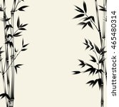 chinese bamboo painted with a... | Shutterstock .eps vector #465480314