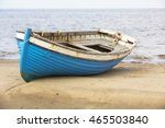 Fishing Boats On The Shore Of...