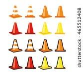 training cones | Shutterstock .eps vector #465512408