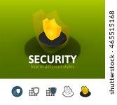 security color icon  vector...