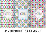 bright colorful seamless... | Shutterstock .eps vector #465515879