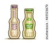 vector logo tartar and garlic...   Shutterstock .eps vector #465523670