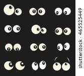 Glowing In The Dark Eyes Vector ...