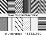 striped seamless patterns... | Shutterstock .eps vector #465531980