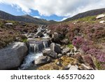 idyllic waterfall in the... | Shutterstock . vector #465570620