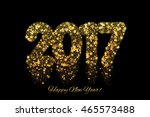 vector magic happy new year... | Shutterstock .eps vector #465573488