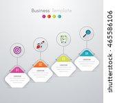 vector illustration of four... | Shutterstock .eps vector #465586106