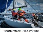 konakovo   april 19   team... | Shutterstock . vector #465590480