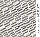 vector seamless pattern. modern ... | Shutterstock .eps vector #465591476