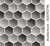 vector seamless pattern. modern ... | Shutterstock .eps vector #465593798