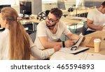 architect designer in the office | Shutterstock . vector #465594893