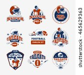 american football  rugby vector ...   Shutterstock .eps vector #465629363