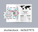 business abstract template... | Shutterstock .eps vector #465637973