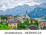 particoular of village of... | Shutterstock . vector #465644114
