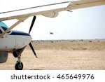 Light Aircraft Takeoff