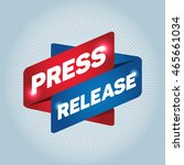 press release arrow tag sign