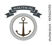 nautical logo design template
