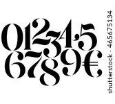 vector custom design elegant... | Shutterstock .eps vector #465675134