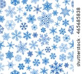 christmas seamless pattern of... | Shutterstock .eps vector #465685838