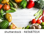 include fresh organic... | Shutterstock . vector #465687014