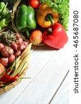 include fresh organic... | Shutterstock . vector #465687080