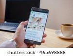 bangkok  thailand   august 8... | Shutterstock . vector #465698888