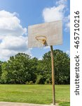 basketball hoop and plain... | Shutterstock . vector #465710216