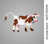 cow | Shutterstock .eps vector #465743444