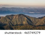 green hill and high nature... | Shutterstock . vector #465749279