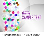 color abstract background for... | Shutterstock .eps vector #465756080