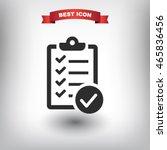 checklist icon. one of set web...