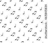 seamless pattern with music... | Shutterstock .eps vector #465845834