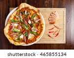 Spicy Smoked Duck Pizza With...
