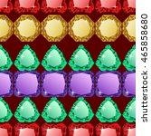 abstract diamond vector... | Shutterstock .eps vector #465858680