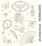 Antique Fashion Lady\'s...