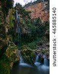 waterfall cascades d'akchour ... | Shutterstock . vector #465885140