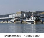 Fishing Boats Moored Alongside...