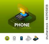 phone color icon  vector symbol ...