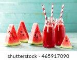 watermelon drink   Shutterstock . vector #465917090