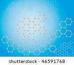 the blue background of the... | Shutterstock .eps vector #46591768